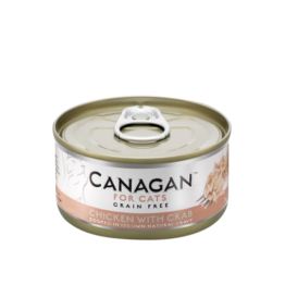 CANAGAN CAT CHICKEN WITH CRAB [ΚΟΝΣΕΡΒΑ 75GR]