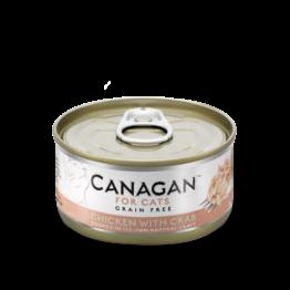 CANAGAN CAT CHICKEN WITH CRAB [ΚΟΝΣΕΡΒΑ 75GR]