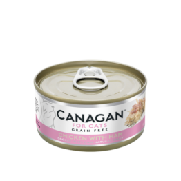 CANAGAN CAT CHICKEN WITH HAM [ΚΟΝΣΕΡΒΑ 75GR]