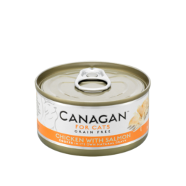 CANAGAN CAT CHICKEN WITH SALMON [ΚΟΝΣΕΡΒΑ 75GR]