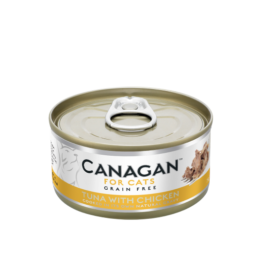 CANAGAN CAT TUNA WITH CHICKEN [ΚΟΝΣΕΡΒΑ 75GR]