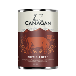 CANAGAN DOG BRITISH BEEF [ΚΟΝΣΕΡΒΑ 400GR]