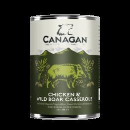 CANAGAN DOG CHICKEN & WILD BOAR CASSEROLE [ΚΟΝΣΕΡΒΑ 400GR]
