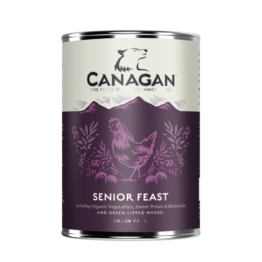 CANAGAN DOG SENIOR FEAST [ΚΟΝΣΕΡΒΑ 400GR]