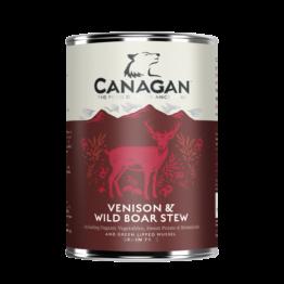 CANAGAN DOG VENISON & WILD BOAR STEW [ΚΟΝΣΕΡΒΑ 400GR]