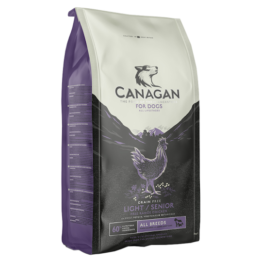 CANAGAN DOG LIGHT/SENIOR FREE RUN CHICKEN [2KG]