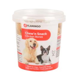 FLAMINGO DOG CHEW 'N SNACK CHICKEN BONES [500GR]