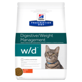 HILL'S CAT PRESCRIPTION DIET W/D DIGESTIVE/WEIGHT MANAGEMENT [1,5KG]