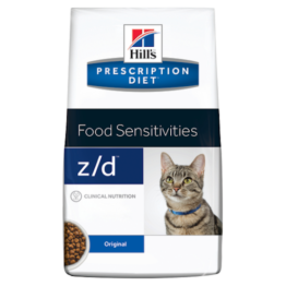 HILL'S CAT PRESCRIPTION DIET Z/D FOOD SENSITIVITIES [2KG]