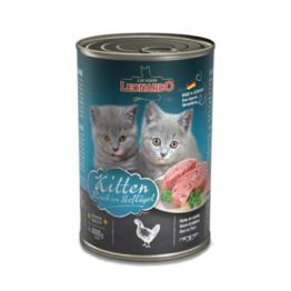 LEONARDO CAT RICH IN POULTRY KITTEN [ΚΟΝΣΕΡΒΑ 400GR]