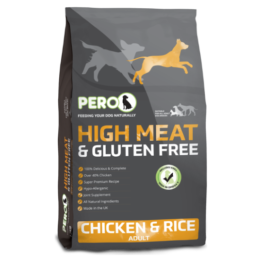 PERO DOG HIGH MEET & GLUTEN FREE CHICKEN & RICE [12KG]