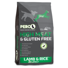 PERO DOG HGH MEAT & GLUTEN FREE LAMB & RICE [2KG]