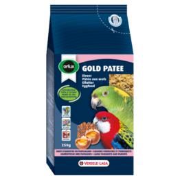 VERSELE-LAGA BIRD ORLUX GOLD PATEE BIG PARAKEETS & PARROTS [250GR]