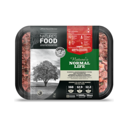 NATURE'S FOOD DOG NORMAL LIFE, BULK [1KG]