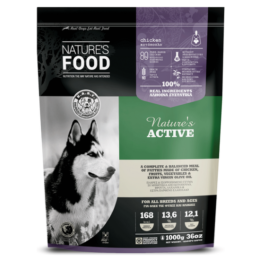 NATURE'S FOOD DOG ACTIVE, PATTIES [1KG]