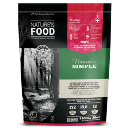 NATURE'S FOOD DOG SIMPLE, PATTIES [1KG]