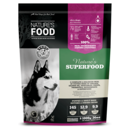 NATURE'S FOOD DOG SUPERFOOD, PATTIES [1KG]
