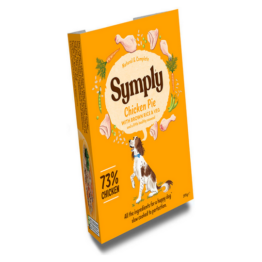 SYMPLY DOG CHICKEN PIE [ΤΑΨΑΚΙ 395GR]