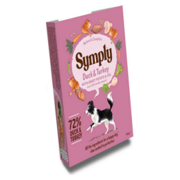 SYMPLY DOG DUCK AND TURKEY [ΤΑΨΑΚΙ 395GR]