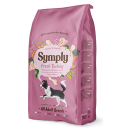 SYMPLY DOG FRESH TURKEY ALL BREEDS [12KG]