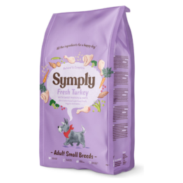 SYMPLY DOG FRESH TURKEY SMALL BREEDS [2KG]