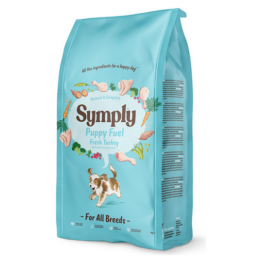SYMPLY DOG PUPPY FUEL FRESH TURKEY [12KG]