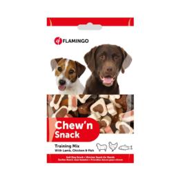 FLAMINGO DOG CHEW 'N SNACK TRAINING MIX [150GR]