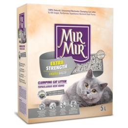 MIR MIR EXTRA STRENGTH CLUMPING CAT LITTER [5 LT]