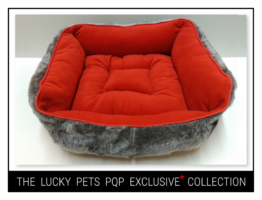 PQP EXCLUSIVE* FLUFFY RED ΠΟΥΦ DELUXE (52,00€ - 100,00€)