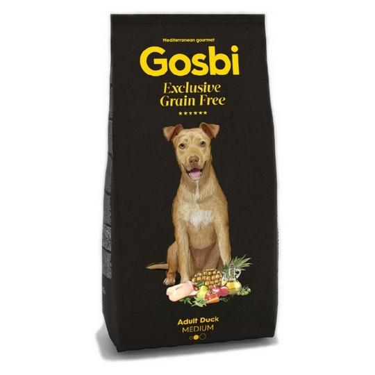GOSBI DOG EXCLUSIVE GRAIN FREE ADULT DUCK MEDIUM [12KG]