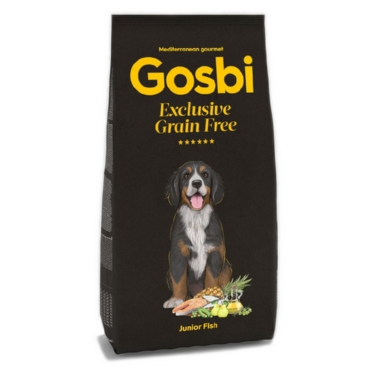 GOSBI DOG EXCLUSIVE GRAIN FREE JUNIOR FISH [12KG]