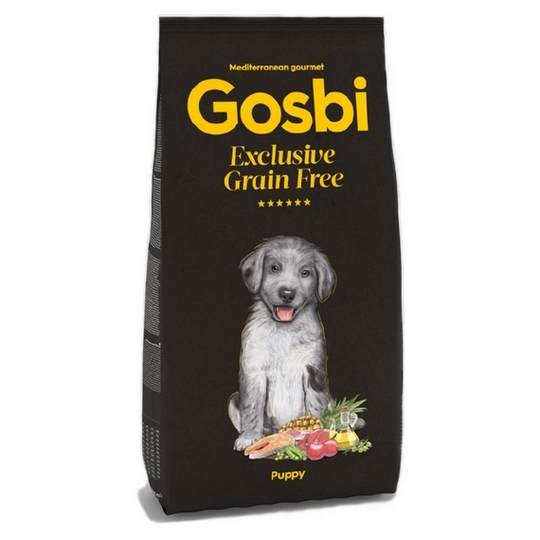 GOSBI DOG EXCLUSIVE GRAIN FREE PUPPY [12KG]